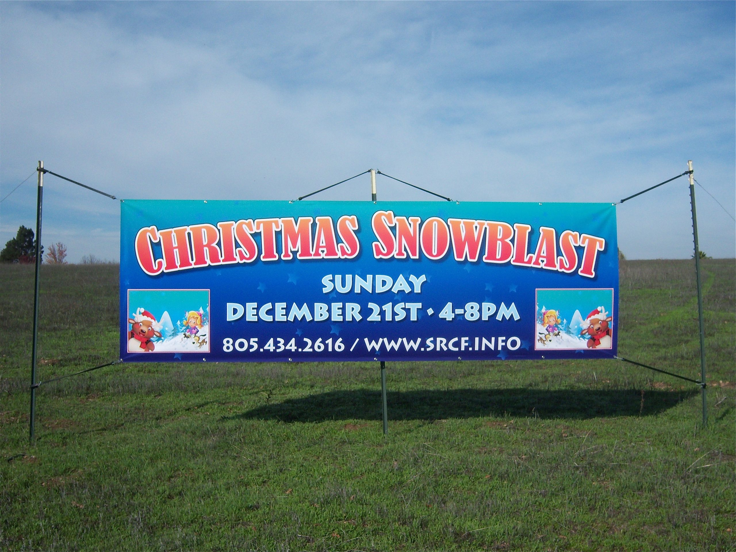 christmas church banners