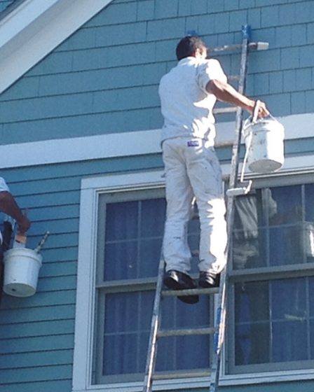 recommended house painters near me