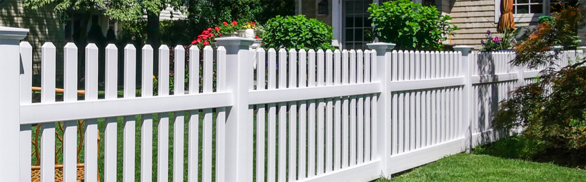 Vinyl-fences